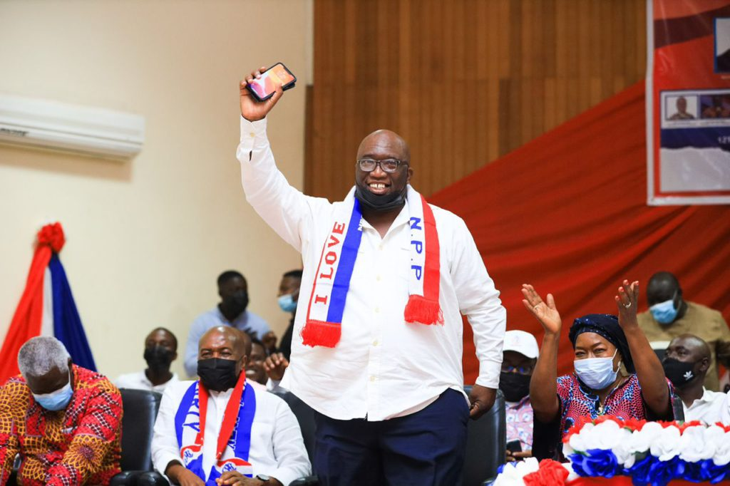 I'll be sanctioned if I declare my presidential ambitions - Joe Ghartey