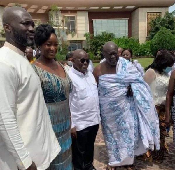 Akufo-Addo's daughter marries son of GIHOC Distilleries boss