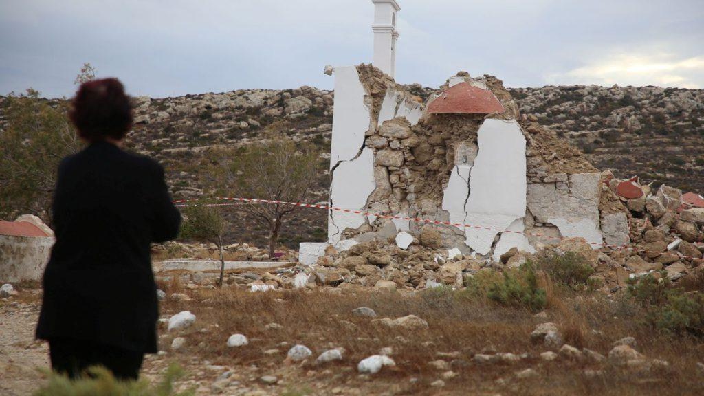 Greek holiday island hit by large 6.4 magnitude tremor sparking tsunami warning