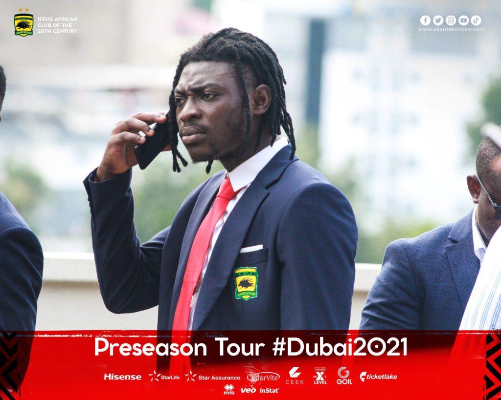 Asante Kotoko depart Ghana for pre-season in Dubai